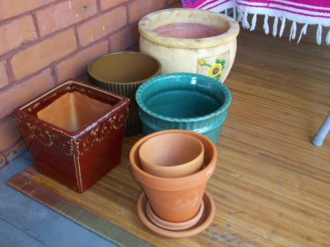 Clean pots