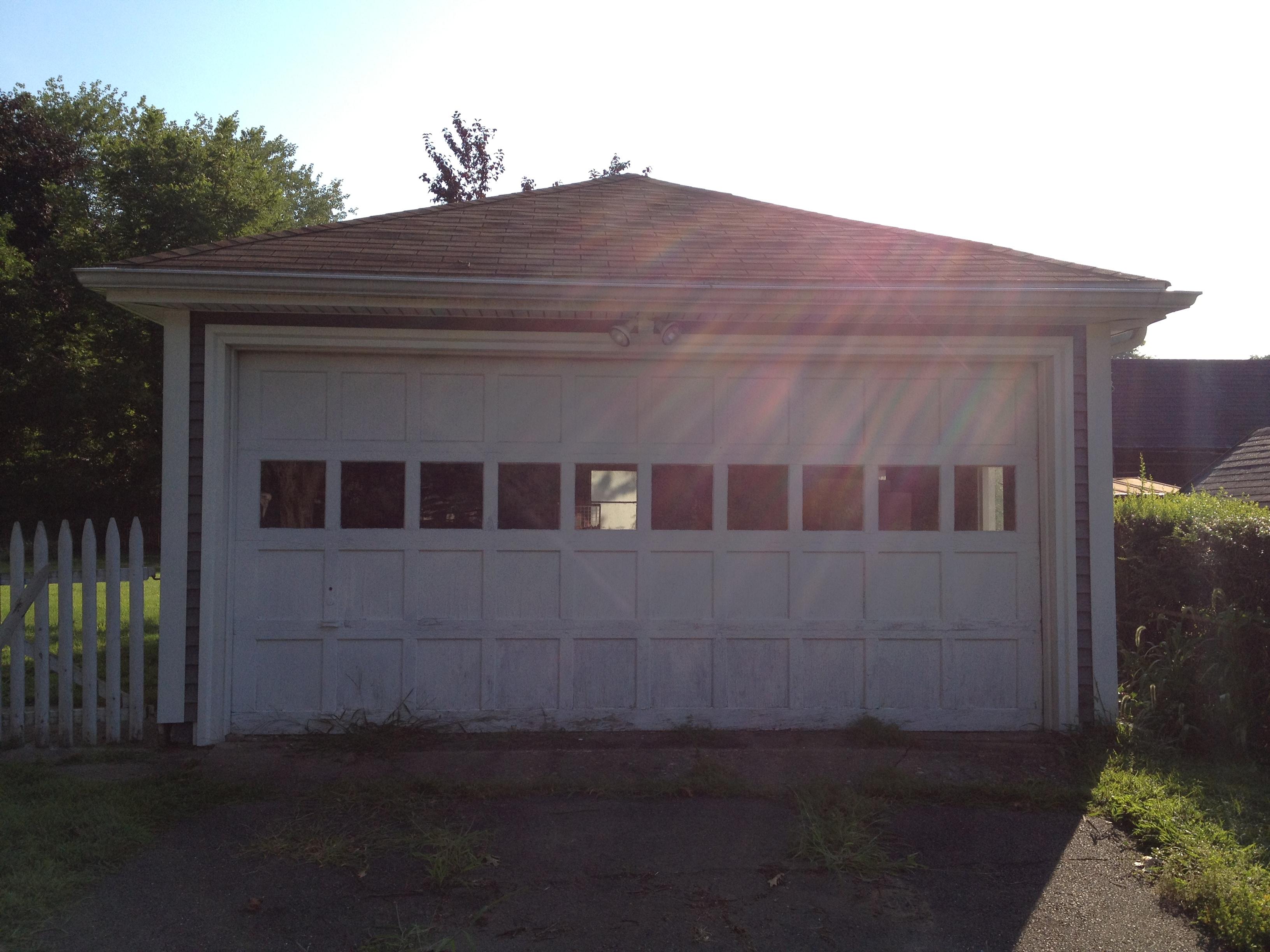 2448 #2594A6 New Garage Door…almost Okay Kaye? image New Garage Doors 36933264