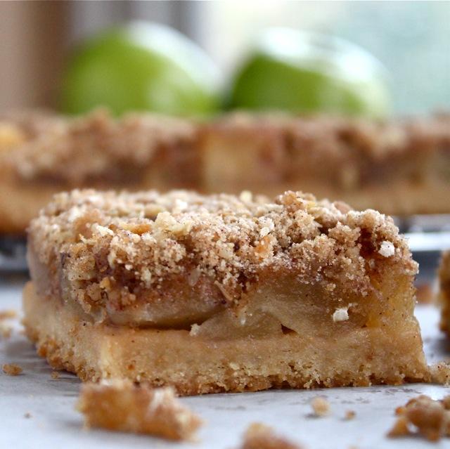 Как сделать песочный пирог из яблок