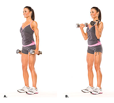 Biceps hammer curl