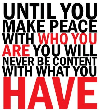 Make peace with you