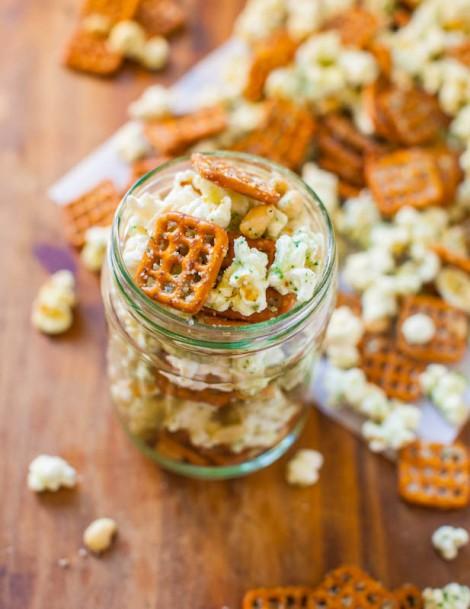 Parmesan Ranch Snack Mix