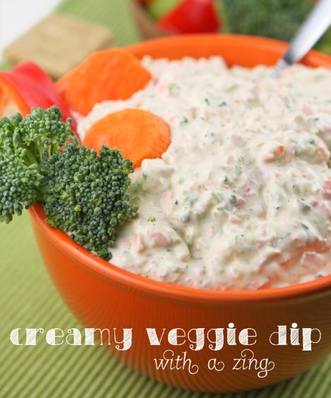 Creamy Veggie Dip