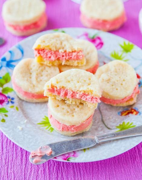 Sugar Wafer Sandwich Cookies