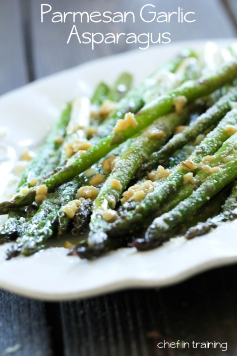 Parmesan Garlic Asparagus