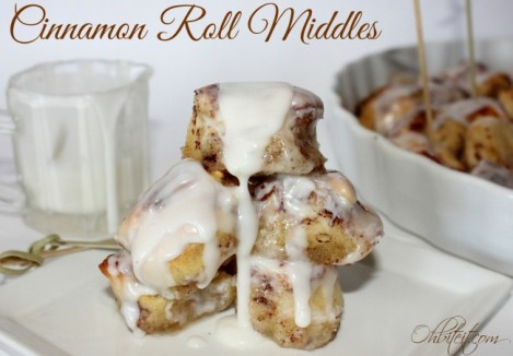 Cinnamon Roll Middles