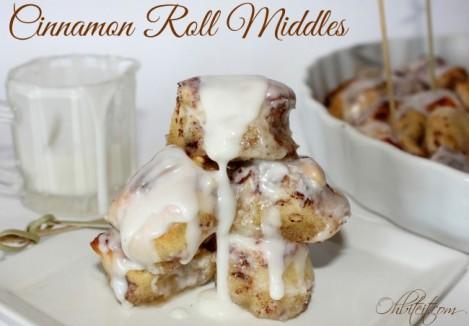 Cinnamon Roll Middles